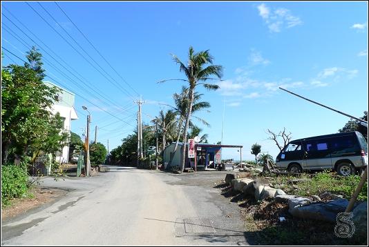這一側是前往旭海漁港,道路最末端封閉就是了