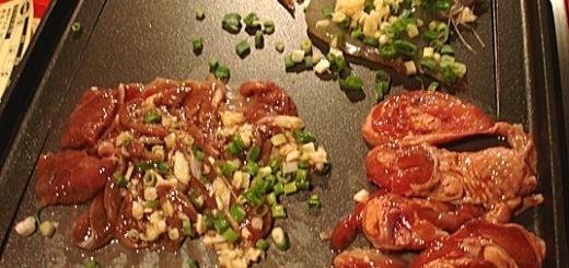 有些創意料理還不錯,像是醃製的肉加入蒜頭與蔥花拌炒