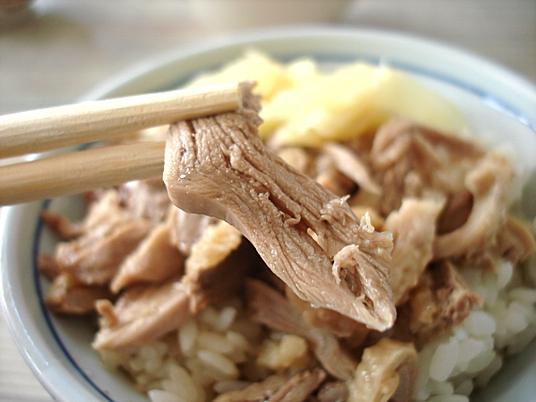 (去年拍的)鴨肉飯的鴨肉