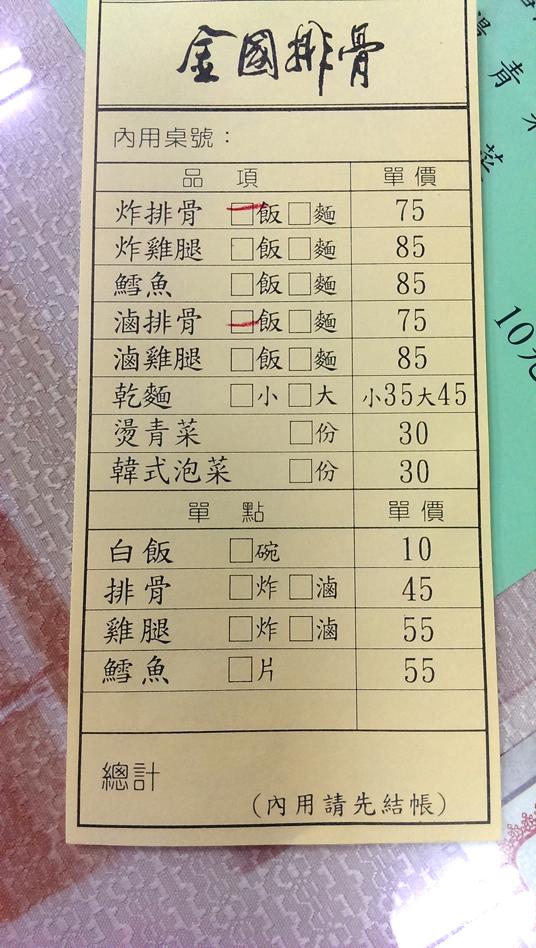 菜單,價格在75和85元,算正常價位...吧?