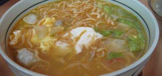 韓式泡菜意麵,這個份量較多...