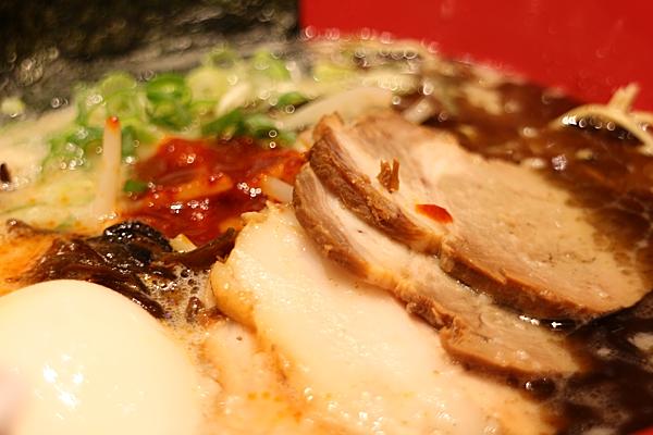 湯頭多了點辣味和鹹味,也多了點油膩味