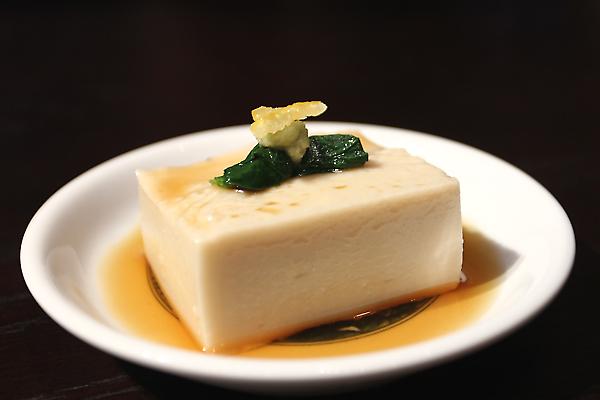 胡麻豆腐,清清淡淡的口感