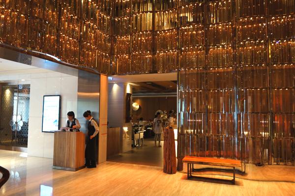 翰品酒店一樓的壽喜燒/握壽司店,是吃到飽的餐廳...