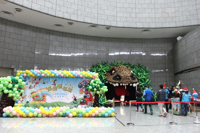 這次展覽在高雄科學工藝博物館B1,展覽到2014/02/15為止。