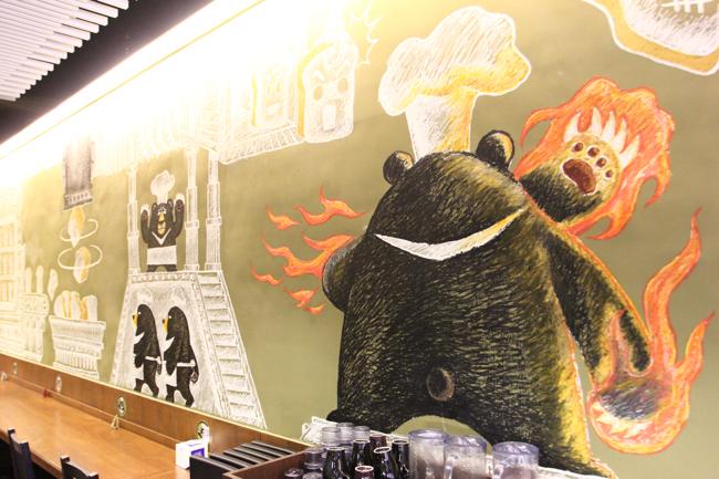 熊塗鴉x2