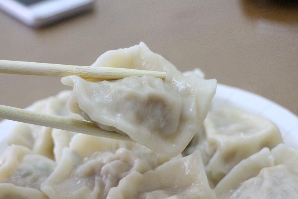 高雄-大社-吳媽媽手工水餃扁食 | 沙拉麵@田園生活