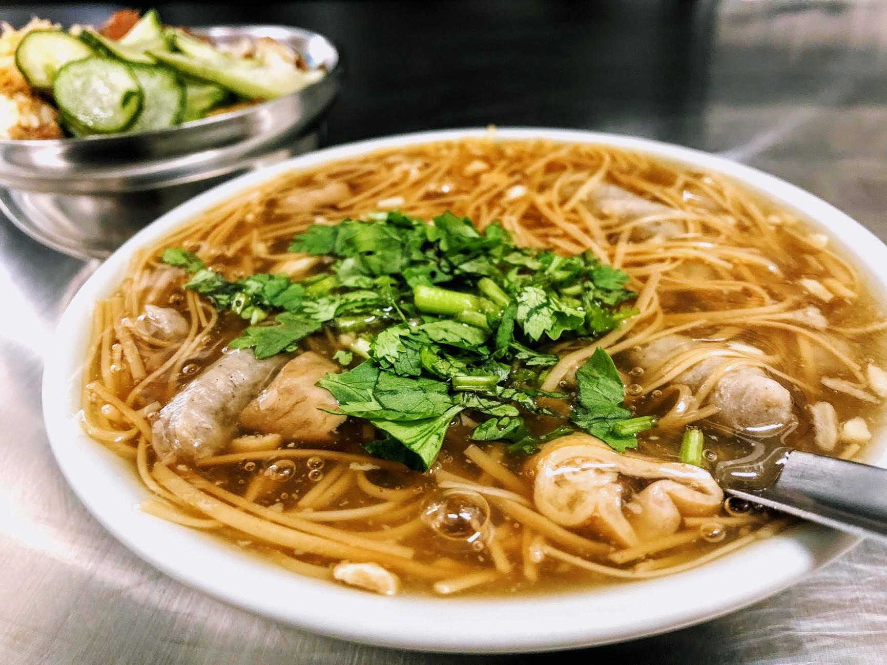 高雄-三民-漢伯麵線羹-米糕