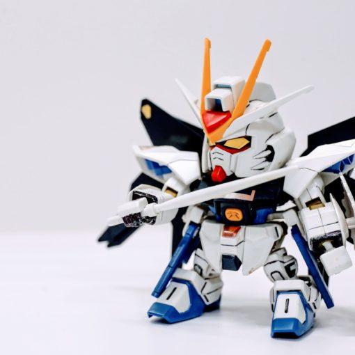 BANDAI-Strike Freedom Gundam-SD攻擊自由鋼彈