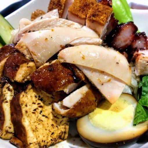 高雄-夢時代-海記醬油雞