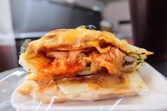 高雄-大社-胖財手作韓式煎餅