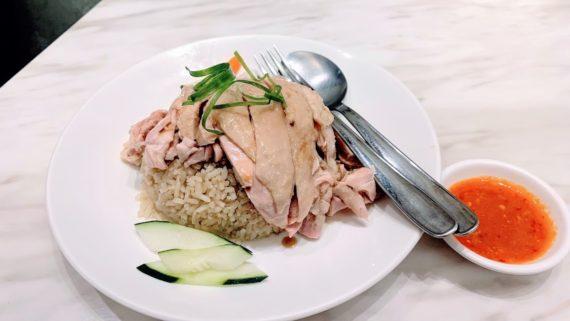 高雄-苓雅區-南洋食府銳記-道地的新加坡海南雞飯